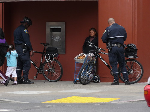 They May Ride Bikes, But They Are Still Cops | by Adrienne Johnson SF