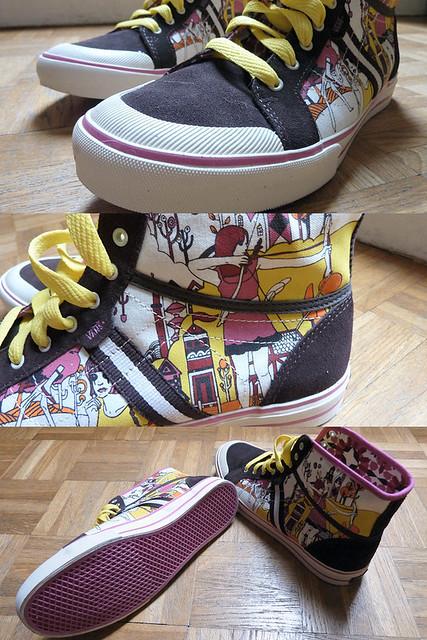 Vans (= new shoes)
