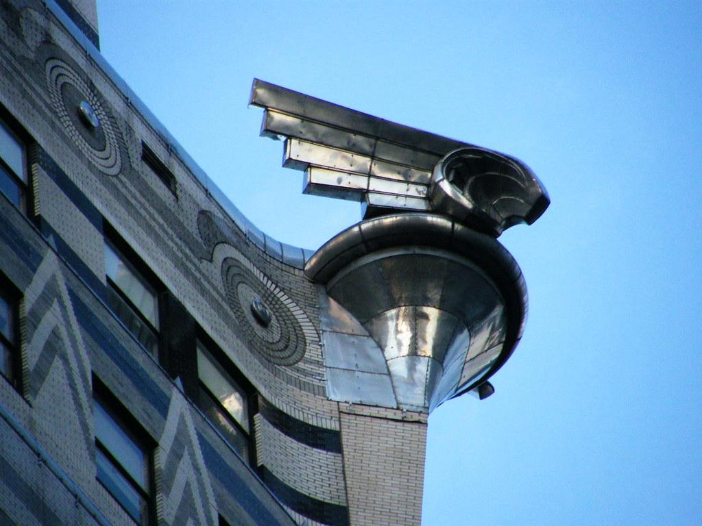Chrysler >> Gargoyle, Chrysler Building | Cristina | Flickr