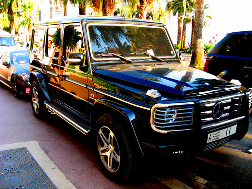 Mercedes-Benz G55 AMG @ Cannes | by nozybphoto