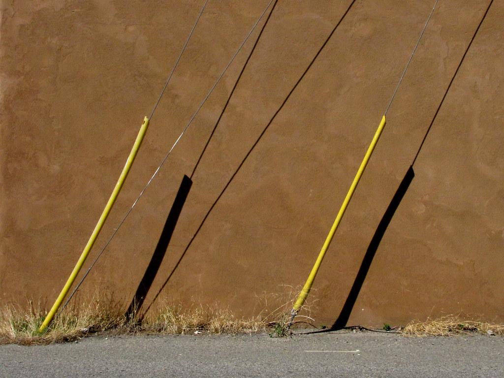 Utility Pole Yellow