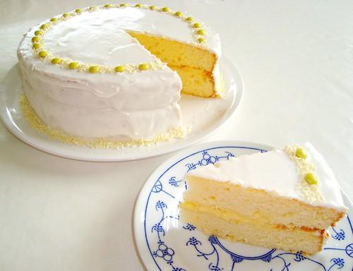 Martha Stewart Baking Handbook Lemon Curd Cake