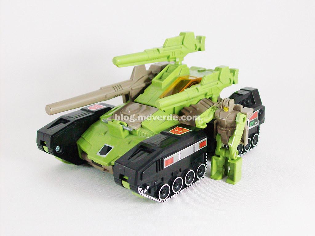 Transformers Hardhead G1 Headmaster with Duros - modo alte… | Flickr