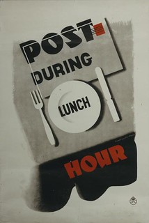 Post during lunch hour | by The Postal Museum