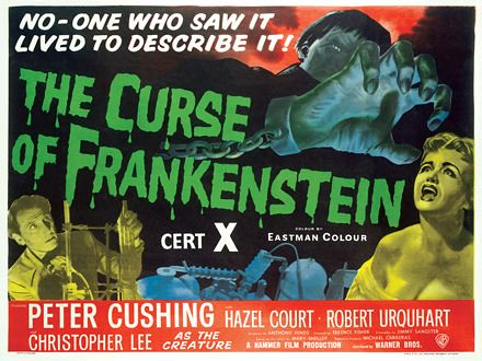 Curse of Frankenstein (1957) - Hammer Films