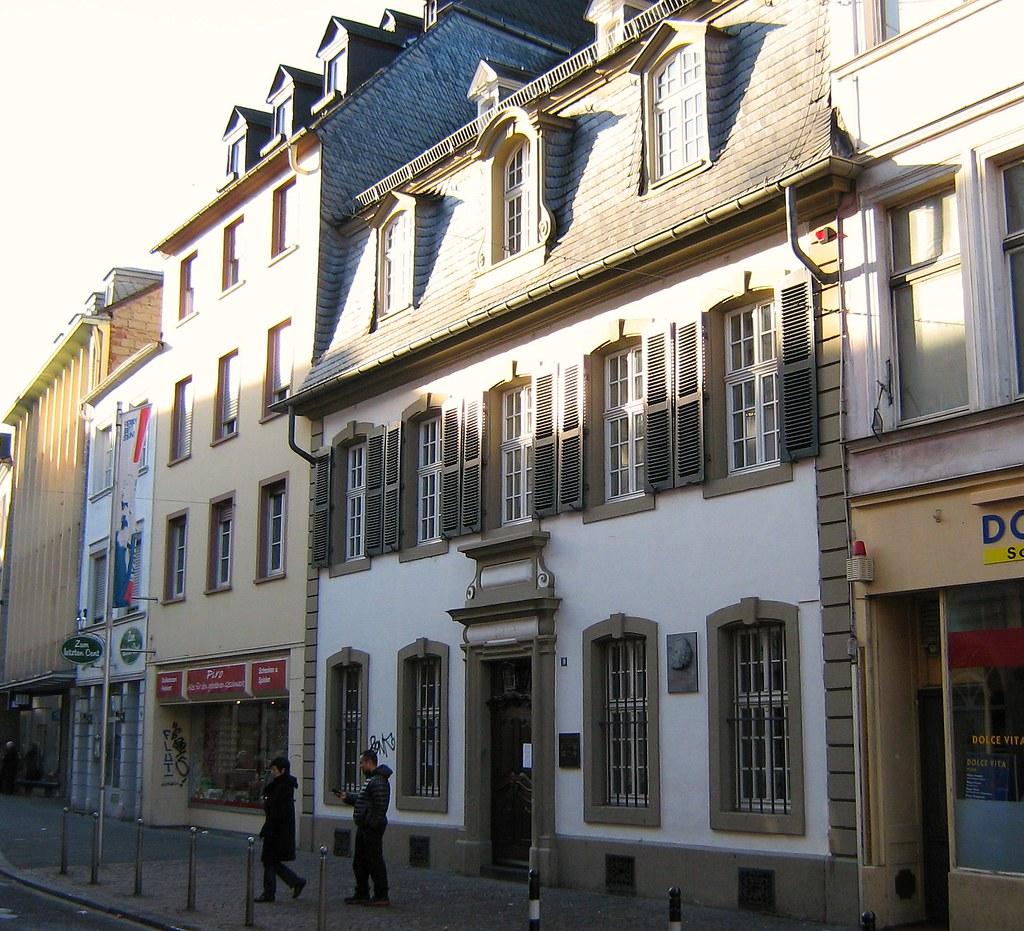 Karl Marx Haus Trier Deutschland