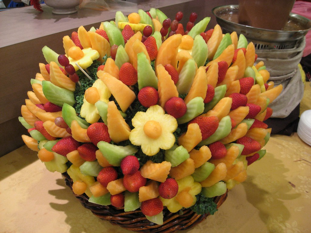Fruit Bouquets | Despite the fact that these are just cut pi… | Flickr