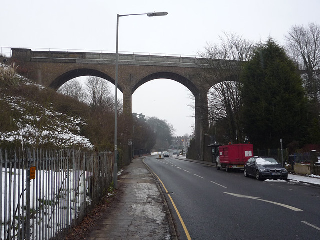 Spring Road Railway Viaduct Ipswich I Used To Live Furthe Flickr