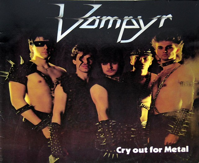 VAMPYR CRY OUT FOR METAL Darkness Tyrant