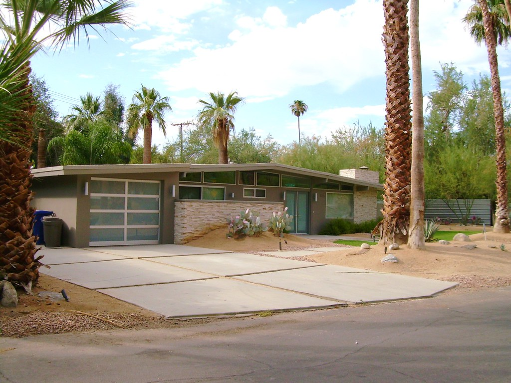 Mid-entury Modern House Palm Springs  Mid-entury Modern H…  Flickr - ^