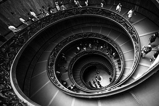 vatican's stairs | by sylvain.landry