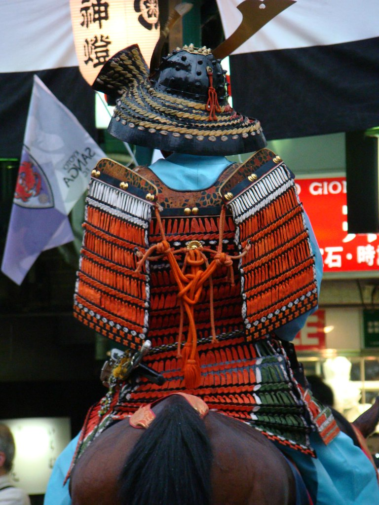 Heian/Kamakura Period Samurai Armor | Two men, wearing ...