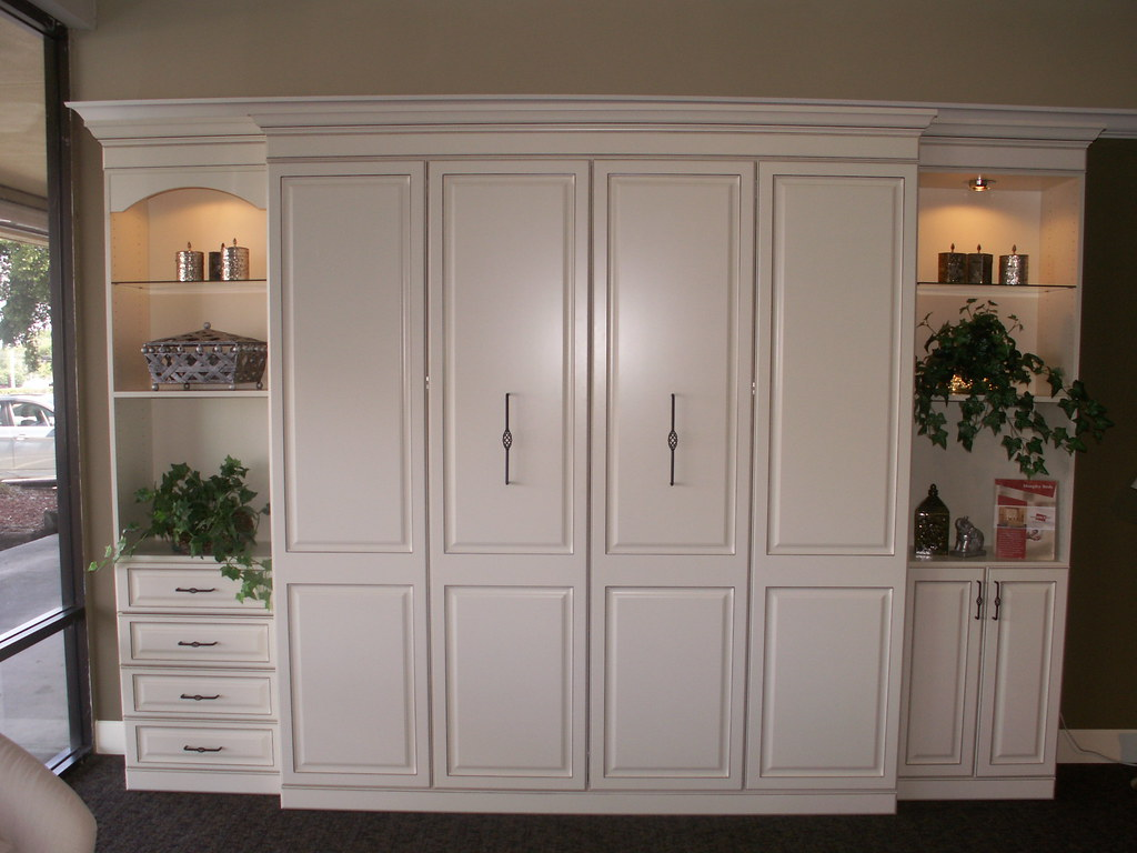 Murphy Beds Murphy Bed Antique White More Space Place