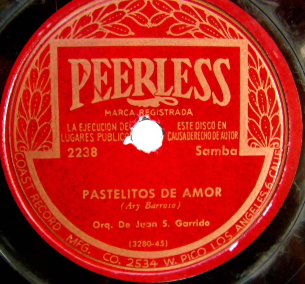 Peerless vintage record label sally mcburney flickr for Classic house record labels