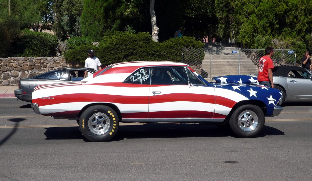 American Car Drag Racing Printd