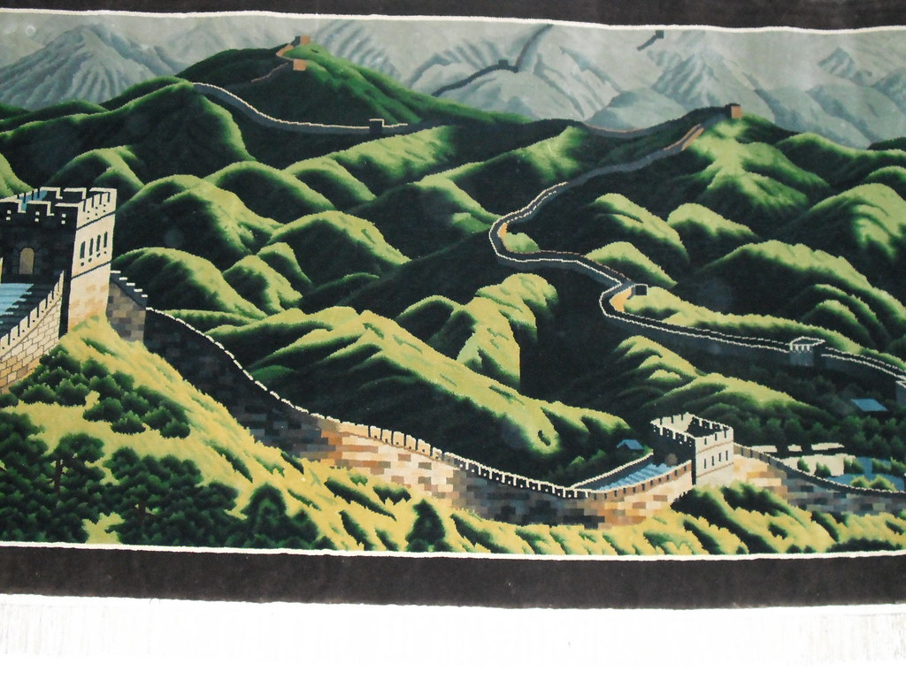 China national embroidery institute great wall