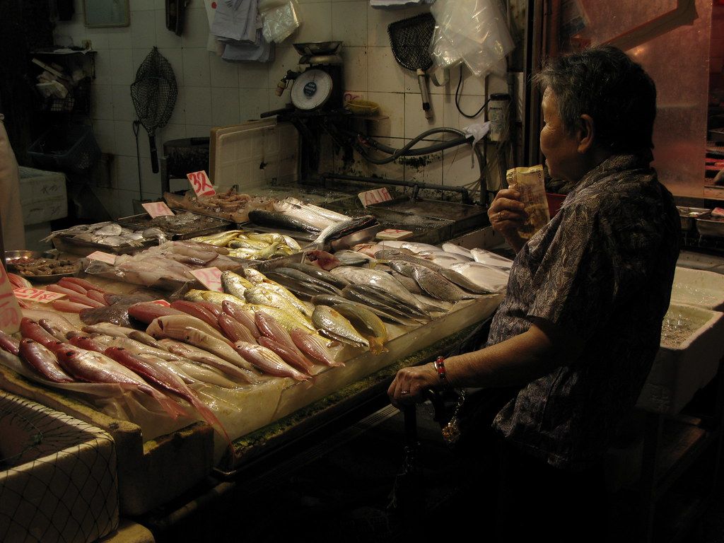 Fish Market In Mong Kok Chika Watanabe Flickr