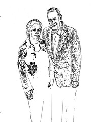 Don & Clara ...a Pen and Ink version | by ClaraDon