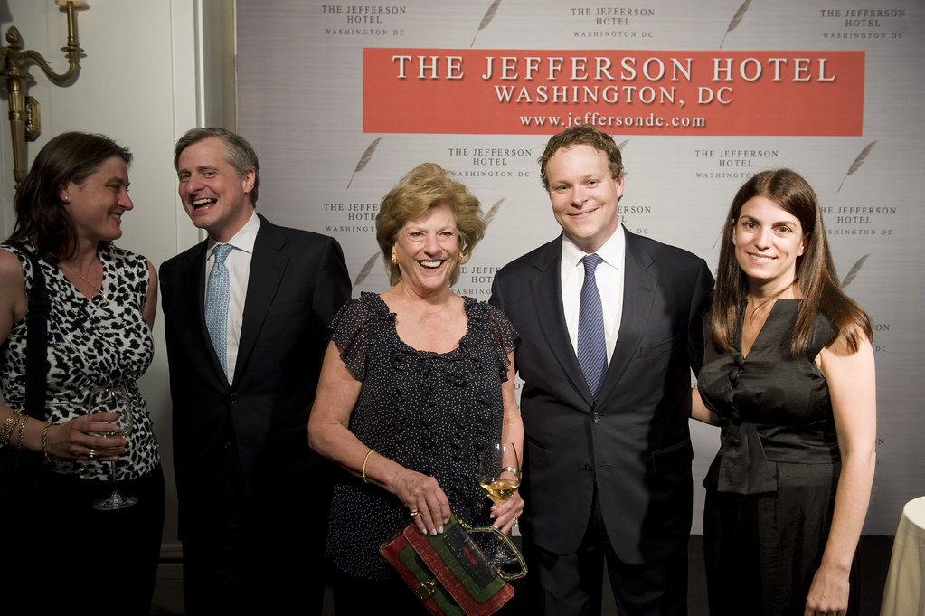 jon meacham and friends with chris licht and his wife jenn. Black Bedroom Furniture Sets. Home Design Ideas