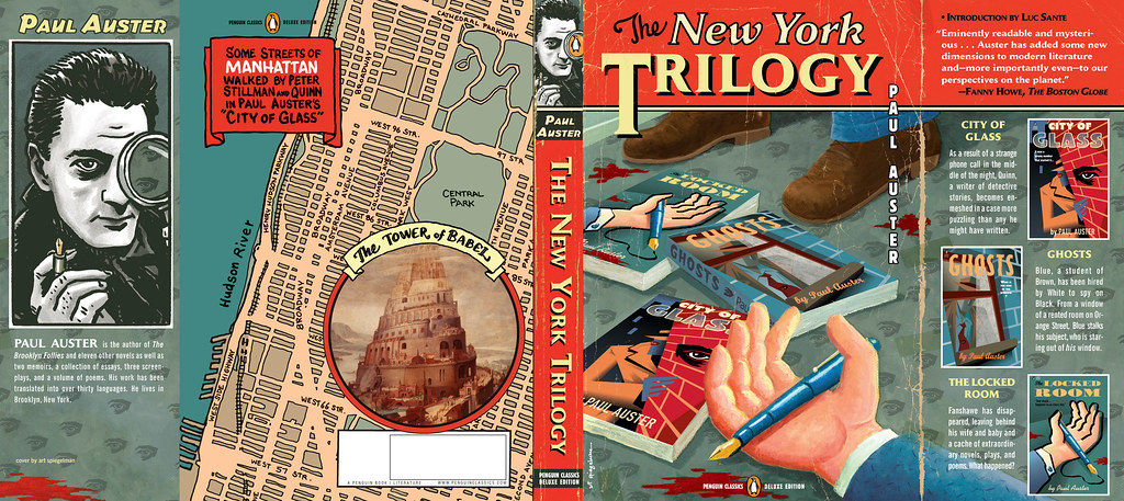 paul auster new york trilogy essay Paul auster is the bestselling author of report from the interior, winter journal, sunset park, invisible, the book of illusions, and the new york trilog.