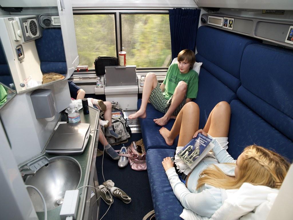 Bedroom On Amtrak