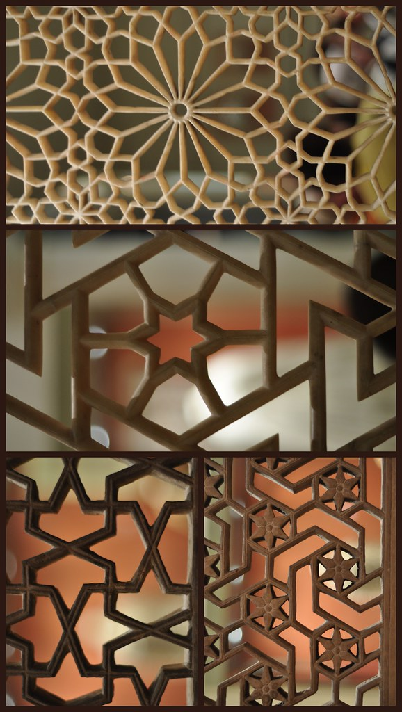 Carved Window Screens Little Collage From A Visit To The