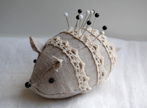 mouse pincushion | by minoridesign