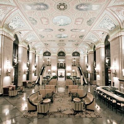 Hotel lobby for Hotel design paris 5