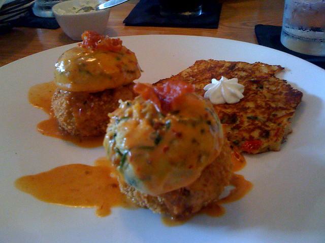 Crab Cake Eggs Benedict San Diego
