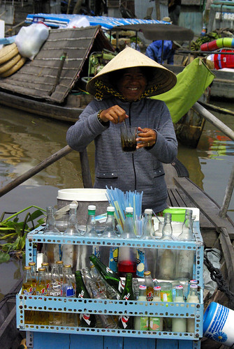 Floating Drinks - Mekong Delta | by The Hungry Cyclist