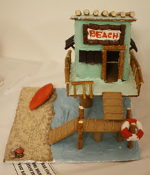 Gingerbread Beach House Jessica Toye Flickr