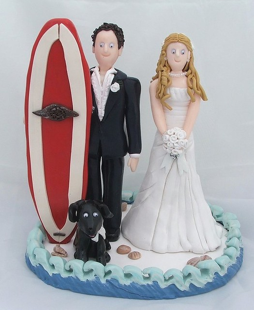Family Of  Wedding Cake Toppers