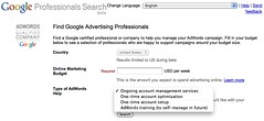 Google Professional Search Beta | by rustybrick