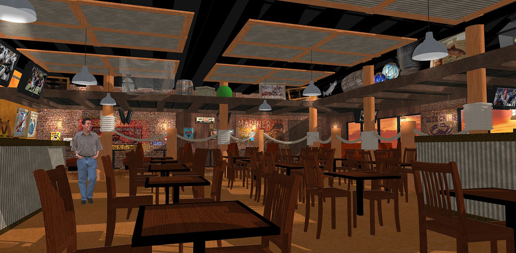Interior restaurant rendering 3d restaurant design caj for 3d restaurant design software