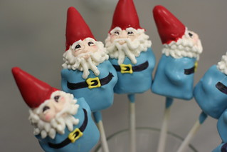 Travel Gnome Cake Pops | by Sweet Lauren Cakes