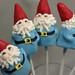 Travel Gnome Cake Pops