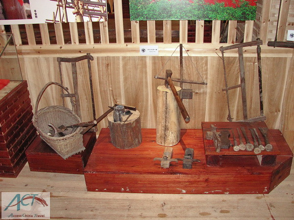 Traditional Chinese Woodworking Tools Here Is An Exhibitio Flickr