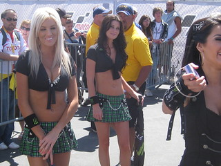 Monster energy drink umbrella girls | by scriptingnews