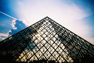 louvre pyramid | by lomokev