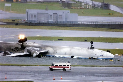 China Airlines Flight Ci 642 Wreckage Of China Airlines