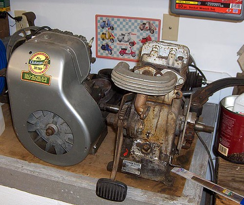 Cushman Engines On Bench 50