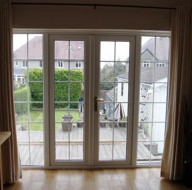 french door with georgian bar units distinction windows. Black Bedroom Furniture Sets. Home Design Ideas