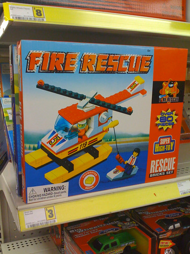 Lego Knock-off Fire Set Found At Dollar General