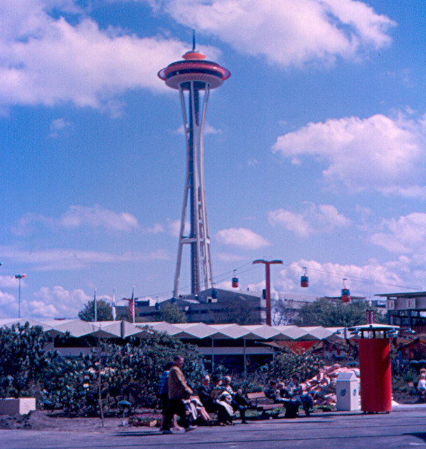 Seattle - Space Needle at World's Fair | The Space Needle ...