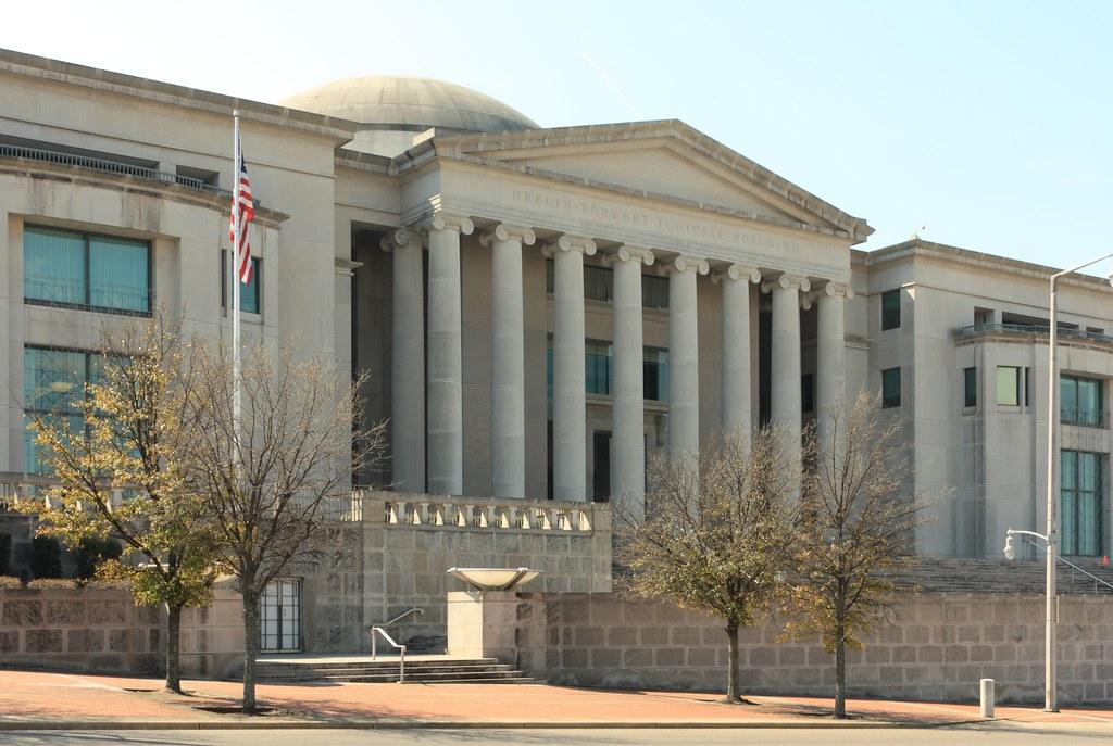 Heflin Torbert Judicial Building Downtown Montgomery Al