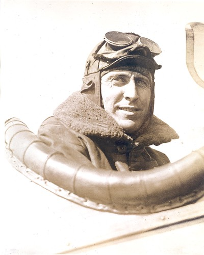 Photograph of airmail pilot William Carroll | by Smithsonian Institution