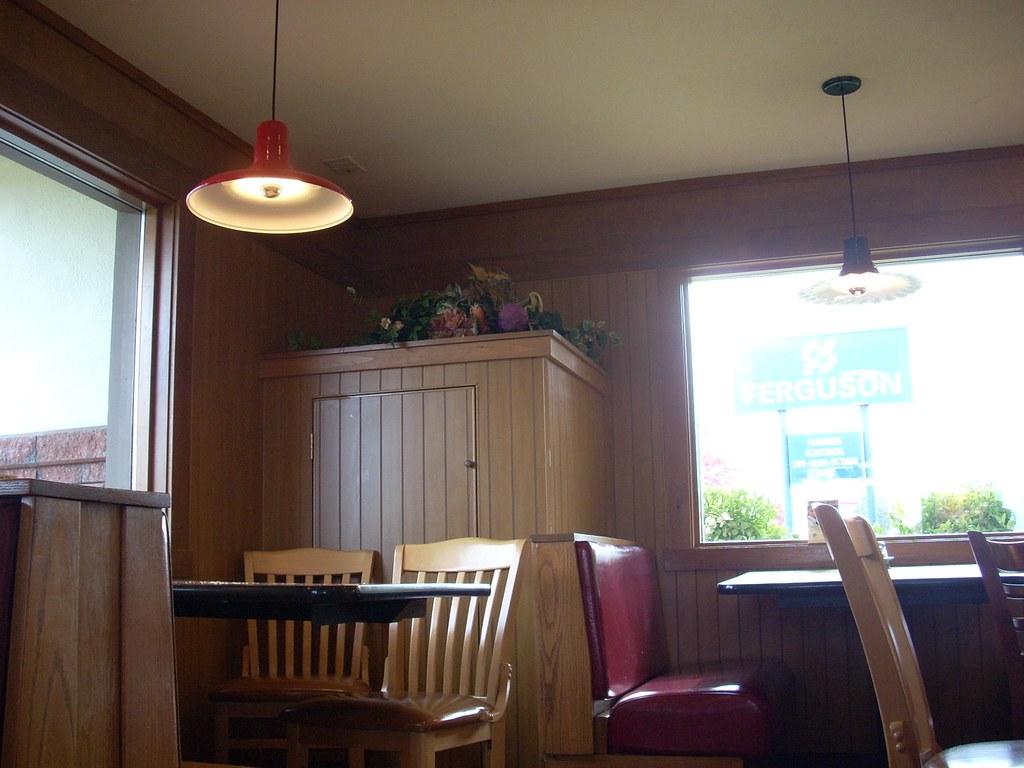 Pizza hut interior the of a