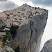 Preachers Rock, Preikestolen, Norway - I do not own the right for this picture