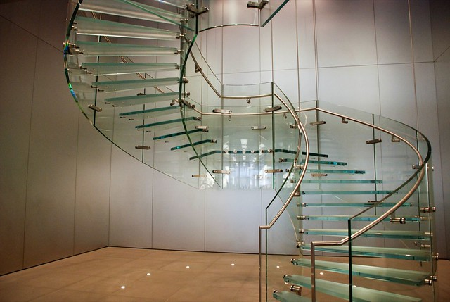 Good ... Apple Store Glass Staircase | By ITuomas