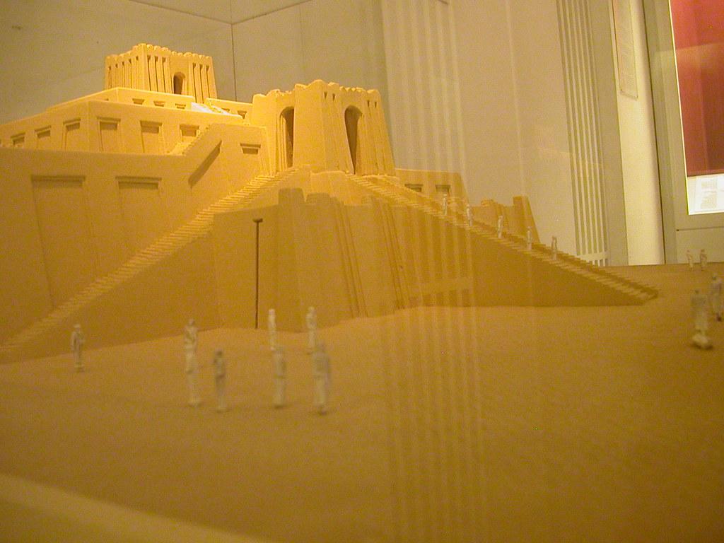 Model Ziggurat Closeup